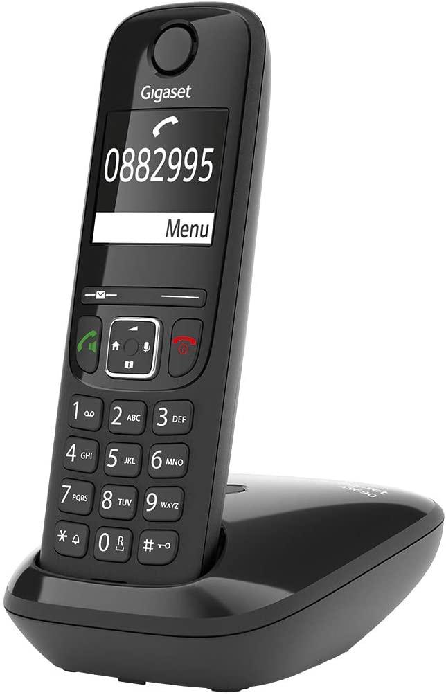 GIGASET Telefono Fijo Inalámbrico AS690 Negro