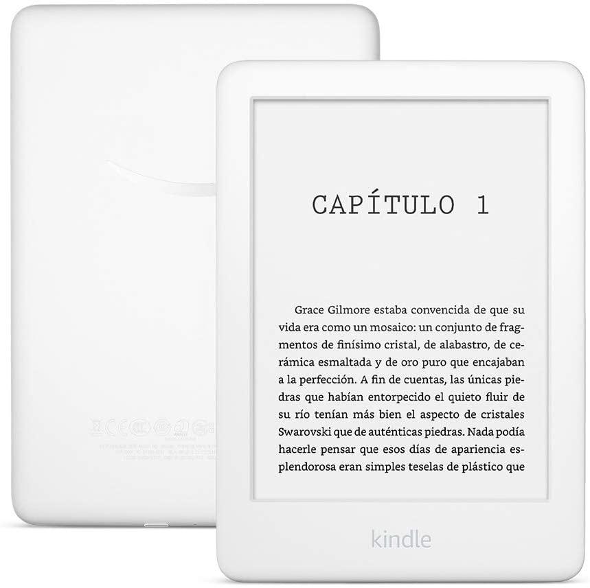 "AMAZON KINDLE Lector de libros digital 6"" E-book Reader Luz Integrada Blanco"