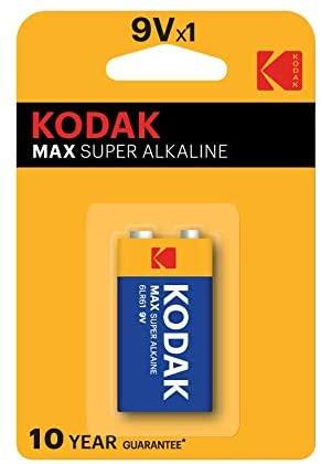 KODAK Blister Pila Alcalina MAX 6LR61 9V