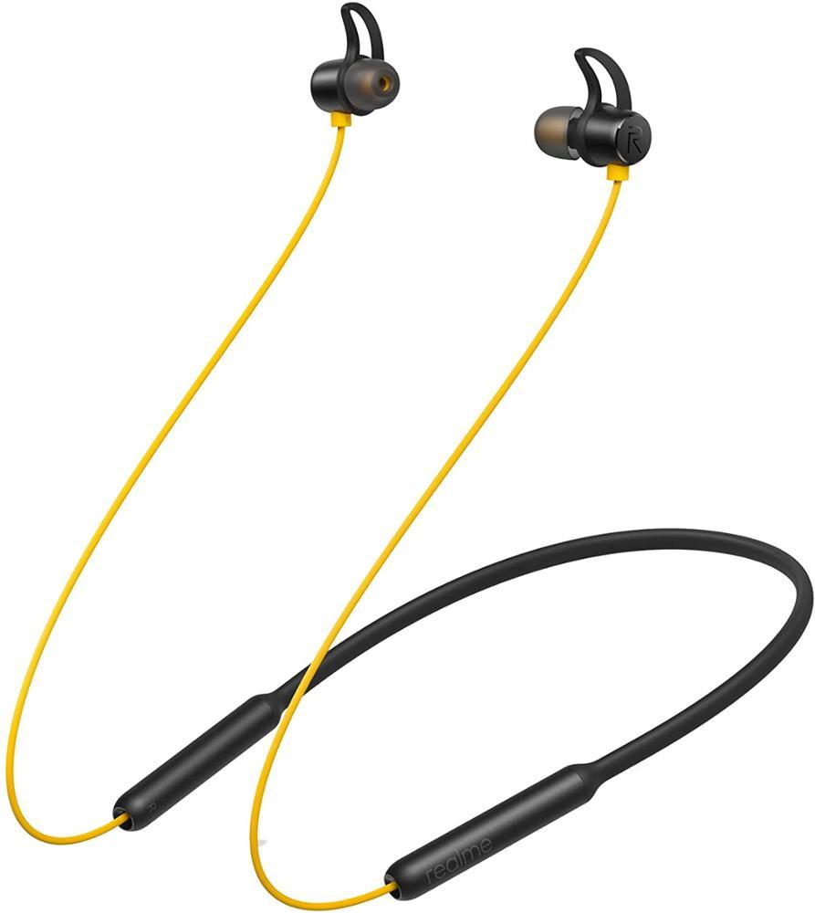 REALME Auriculares Buds Wireless RMA108 - Amarillo