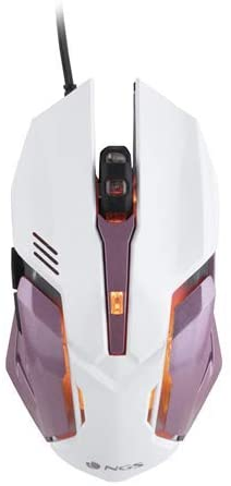 NGS Raton Optico Gaming GMX-100 - Rosa