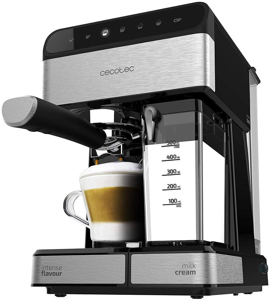 CECOTEC Cafetera Semi-Automática Power Instant-ccino 20 Touch Serie Nera
