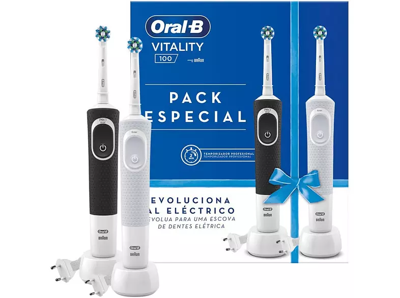 BRAUN Cepillo Dental ORAL-B D100 Vitality Duo