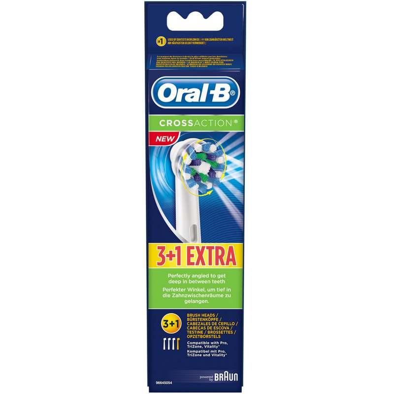 BRAUN RECAMBIO ORAL-B EB50-3+1 (4 RECAMBIOS)