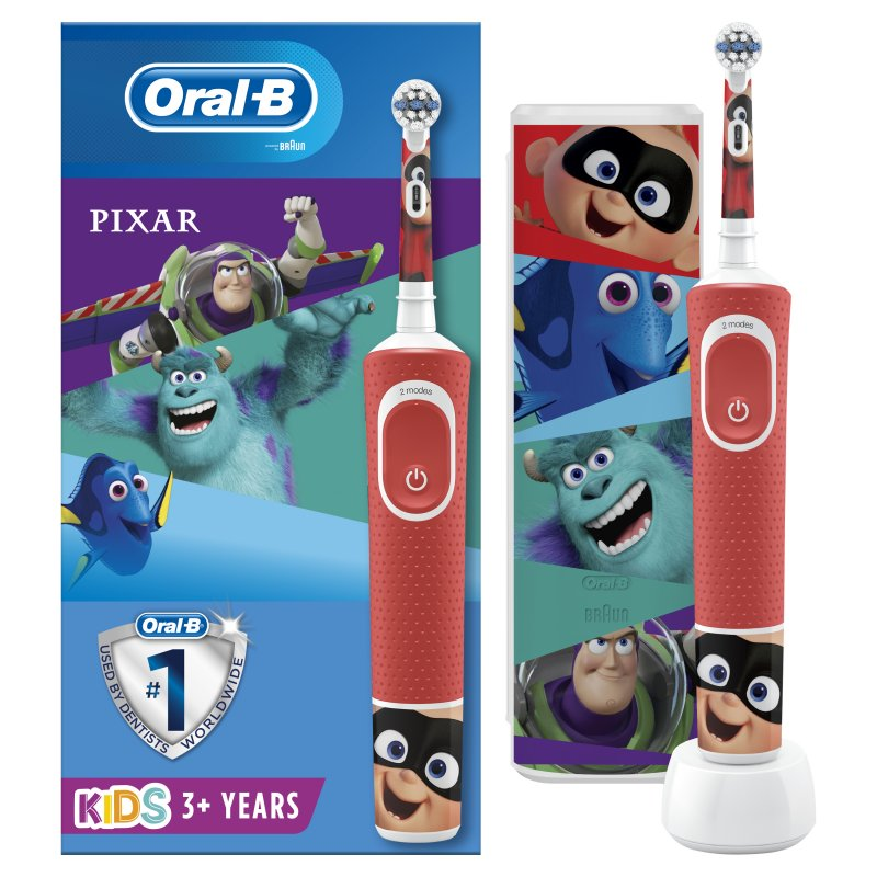 BRAUN Cepillo Dental ORAL-B D100 Kids Pixar