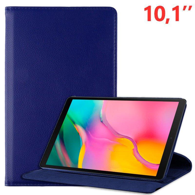 COOL Funda Samsung Galaxy Tab A (2019) T510 / T515 Polipiel Liso Azul