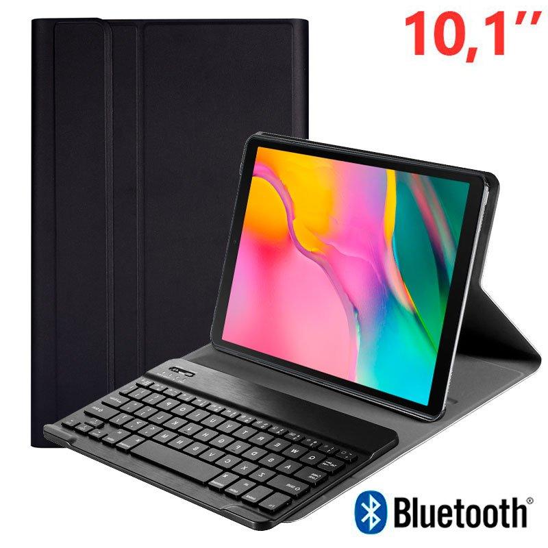 COOL Funda Samsung Galaxy Tab A (2019) T510 / T515 Polipiel Teclado Bluetooth