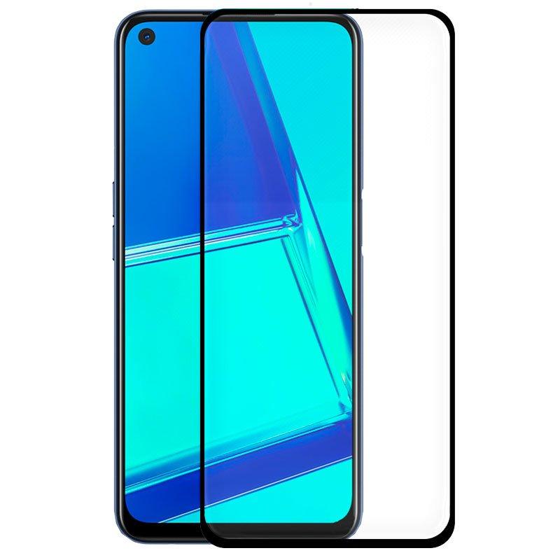 COOL Protector Pantalla Cristal Templado Oppo A52 / A72 / A92 / Realme 6 Pro (Full 3D Negro)