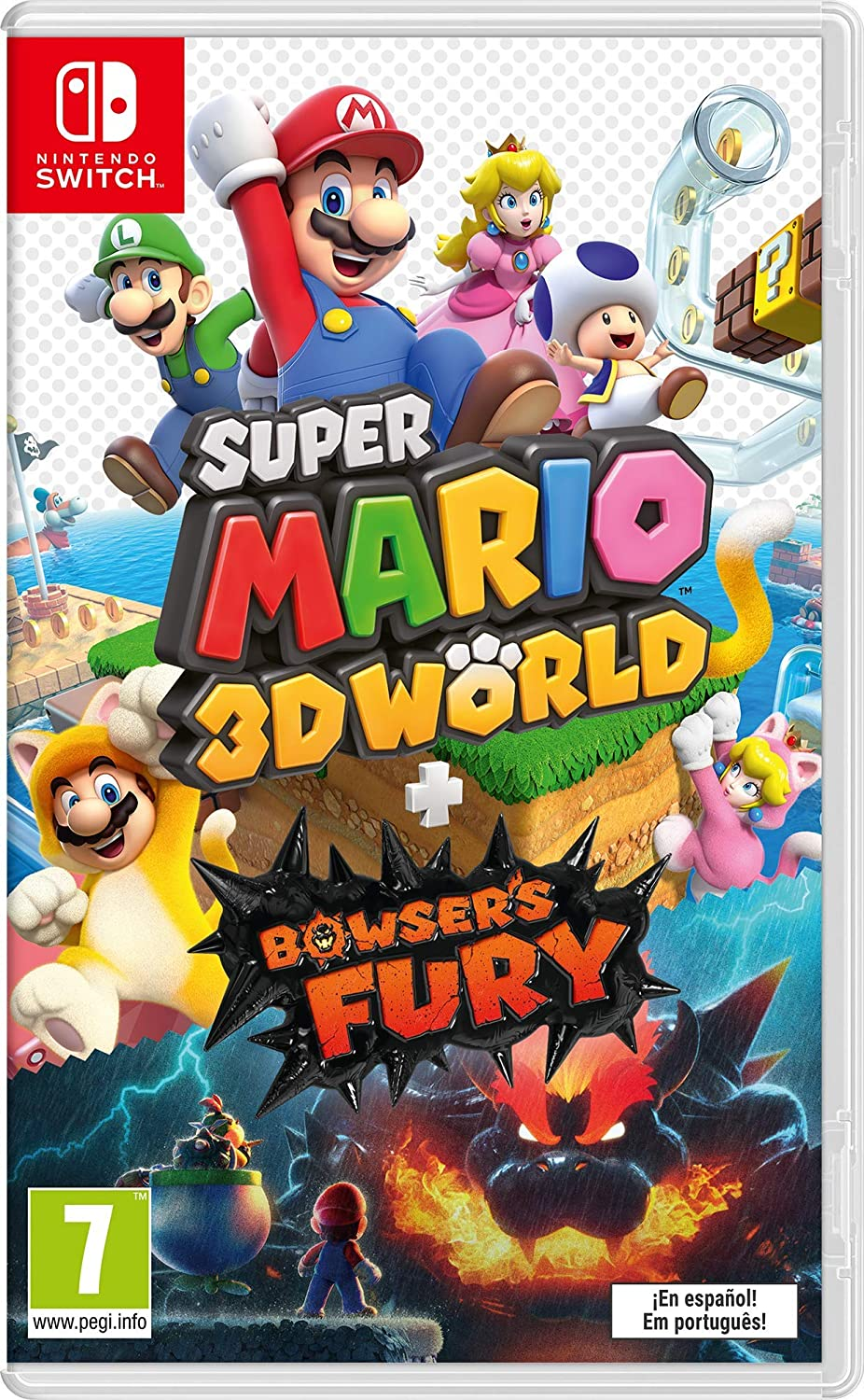 NINTENDO JUEGO SWITCH SUPER MARIO 3D WORLD + BOWSER FURY