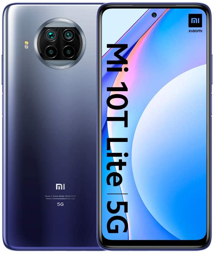XIAOMI Smartphone Xiaomi Mi 10T Lite 5G 6GB/128GB - Azul
