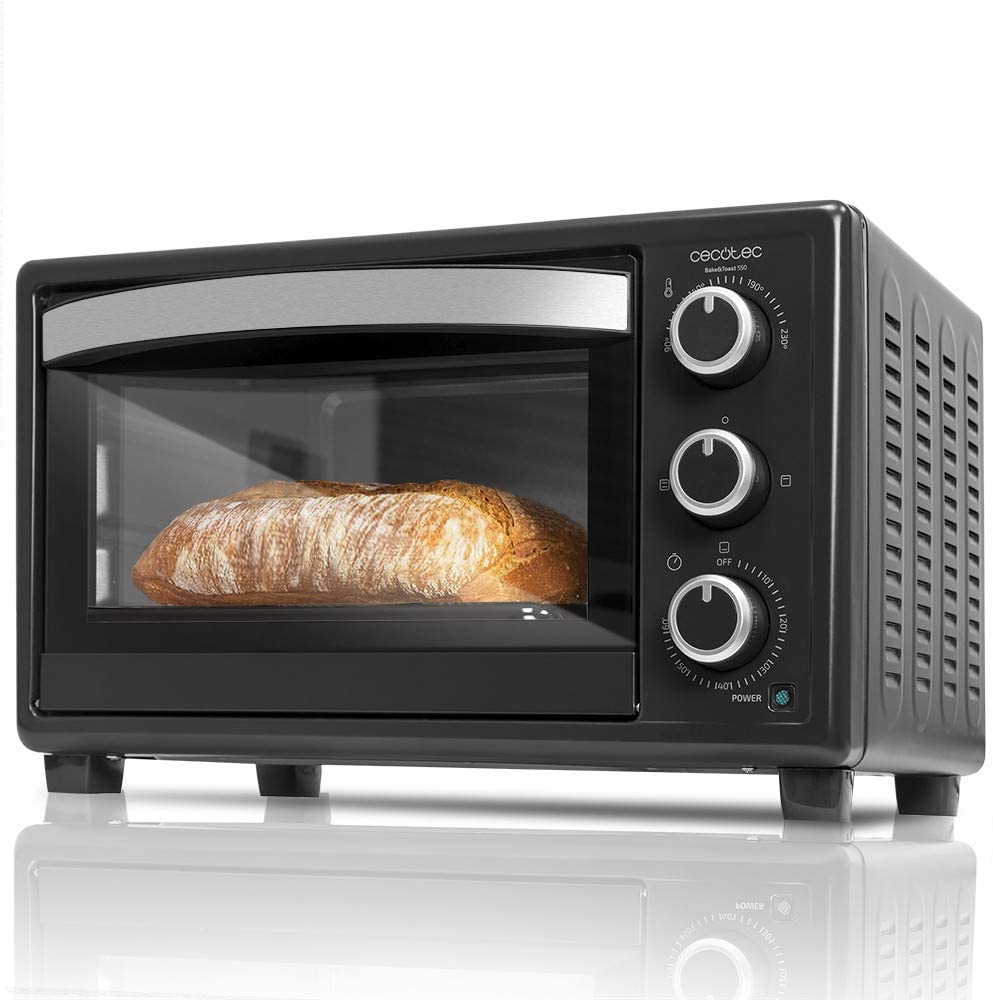 CECOTEC Horno de sobremesa Bake'n Toast 550 23 litros - Negro