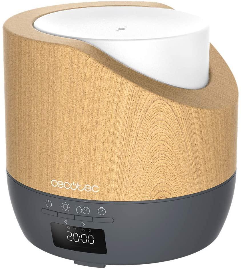 CECOTEC Difusor de aroma PureAroma 500 Smart Grey Woody