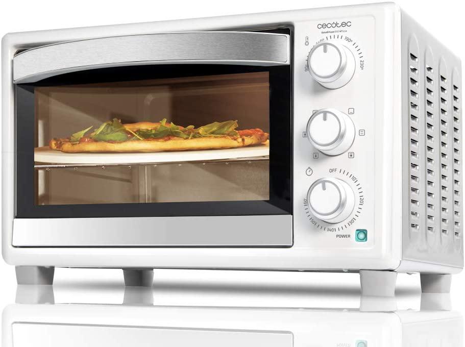 CECOTEC Horno de sobremesa Bake'n Toast 610 4Pizza