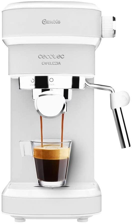 CECOTEC Cafetera Espresso Cafelizzia 790 White