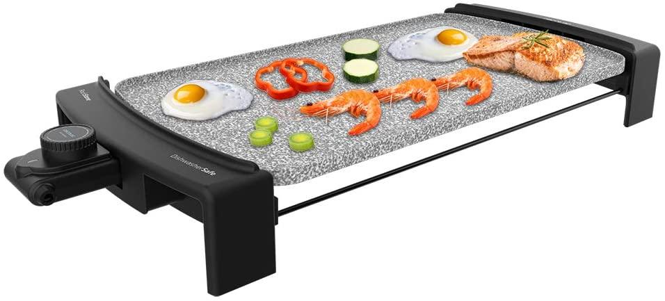 CECOTEC Plancha de asar Tasty & Grill 3000 RockWater