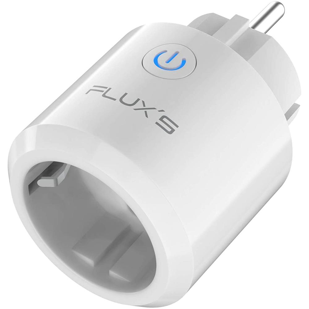 FLUX'S Enchufe Inteligente Smart NAOS Wifi con Monitor de Consumo y Temporizador