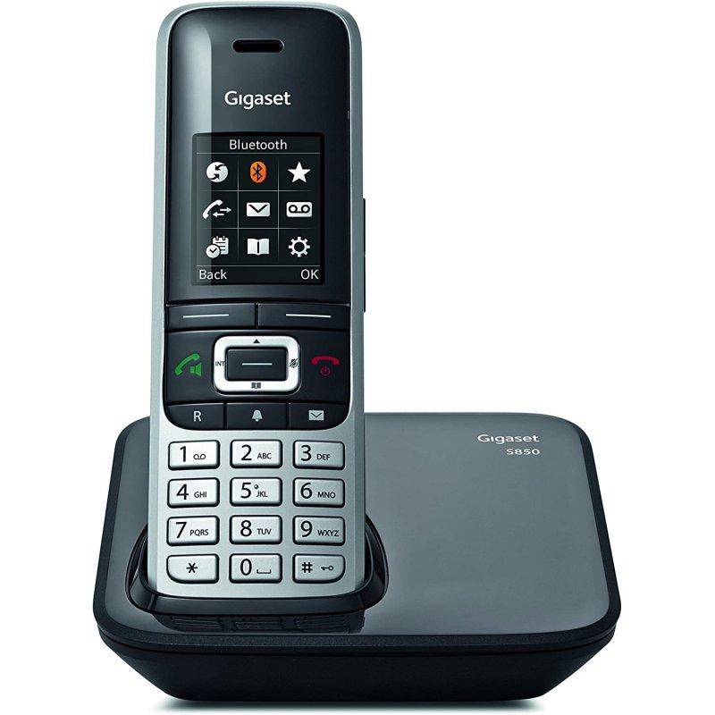 GIGASET Telefono Fijo Inalambrico S850 Bluetooth