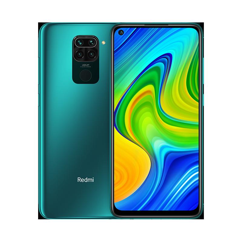 XIAOMI Smartphone Redmi Note 9 3GB + 64GB - Verde