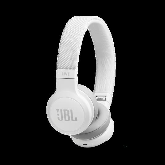 JBL Auriculares Bluetooth Live 400BT - Blanco