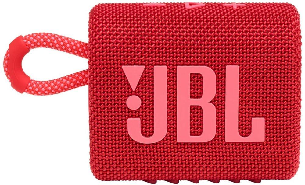 JBL Altavoz Bluetooth GO3 - Rojo