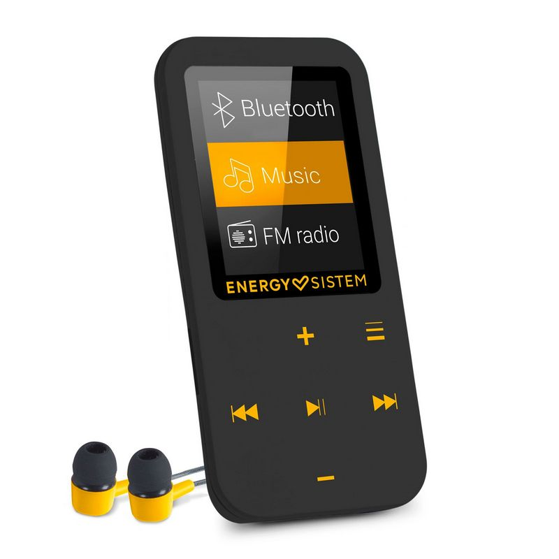 ENERGY SISTEM Reproductor MP4 16GB Touch Bluetooth 447220 - Ambar