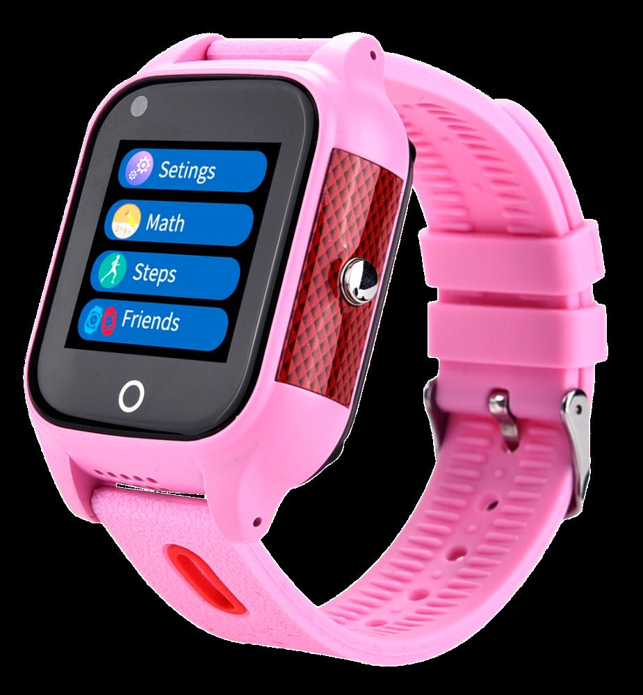 SAVEFAMILY Reloj URBAN 4G con Video - Rosa