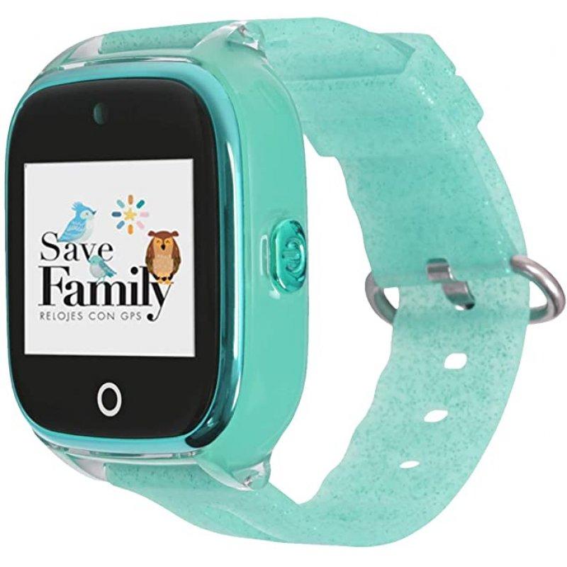SAVEFAMILY Reloj SUPERIOR Infantil - Verde