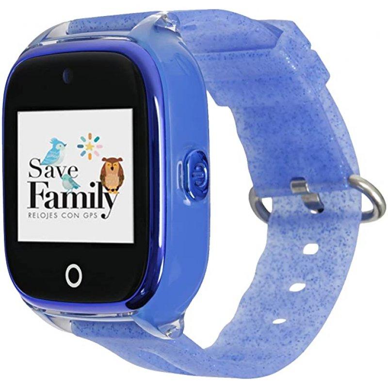 SAVEFAMILY Reloj SUPERIOR Infantil - Azul