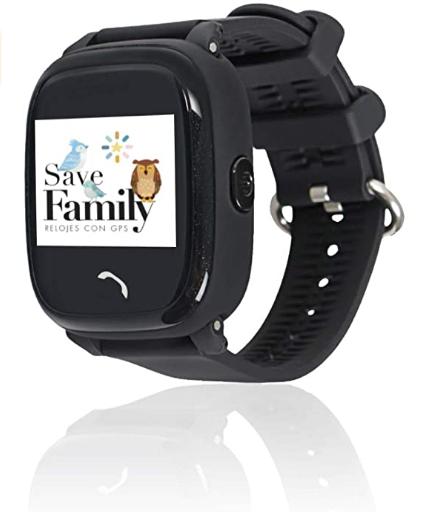 SAVEFAMILY Reloj COMPLETO Infantil - Negro
