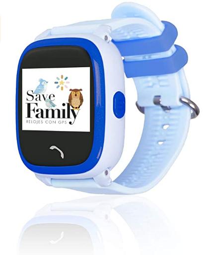 SAVEFAMILY Reloj COMPLETO Infantil - Azul
