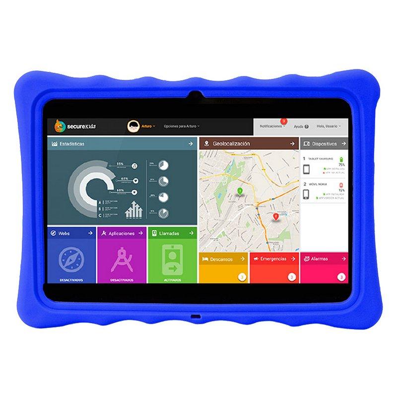 """SAVEFAMILY Tablet 10"""" EVOLUTION Wifi 4G - Azul"""
