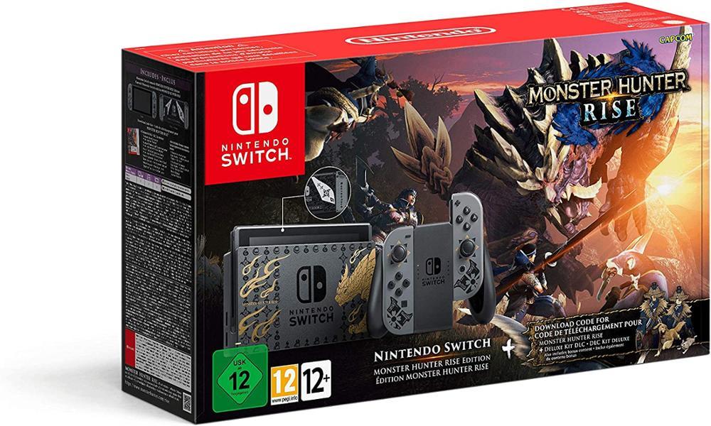 NINTENDO Consola Switch Edicion Monster Hunter Rise Limitada