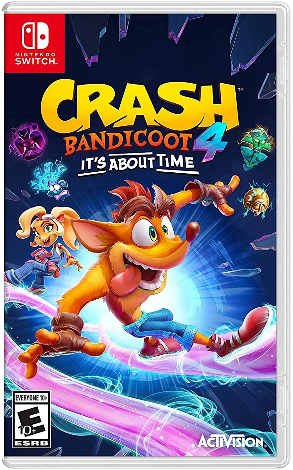 NINTENDO Juego Switch Crash Bandicoot 4: It's About Time