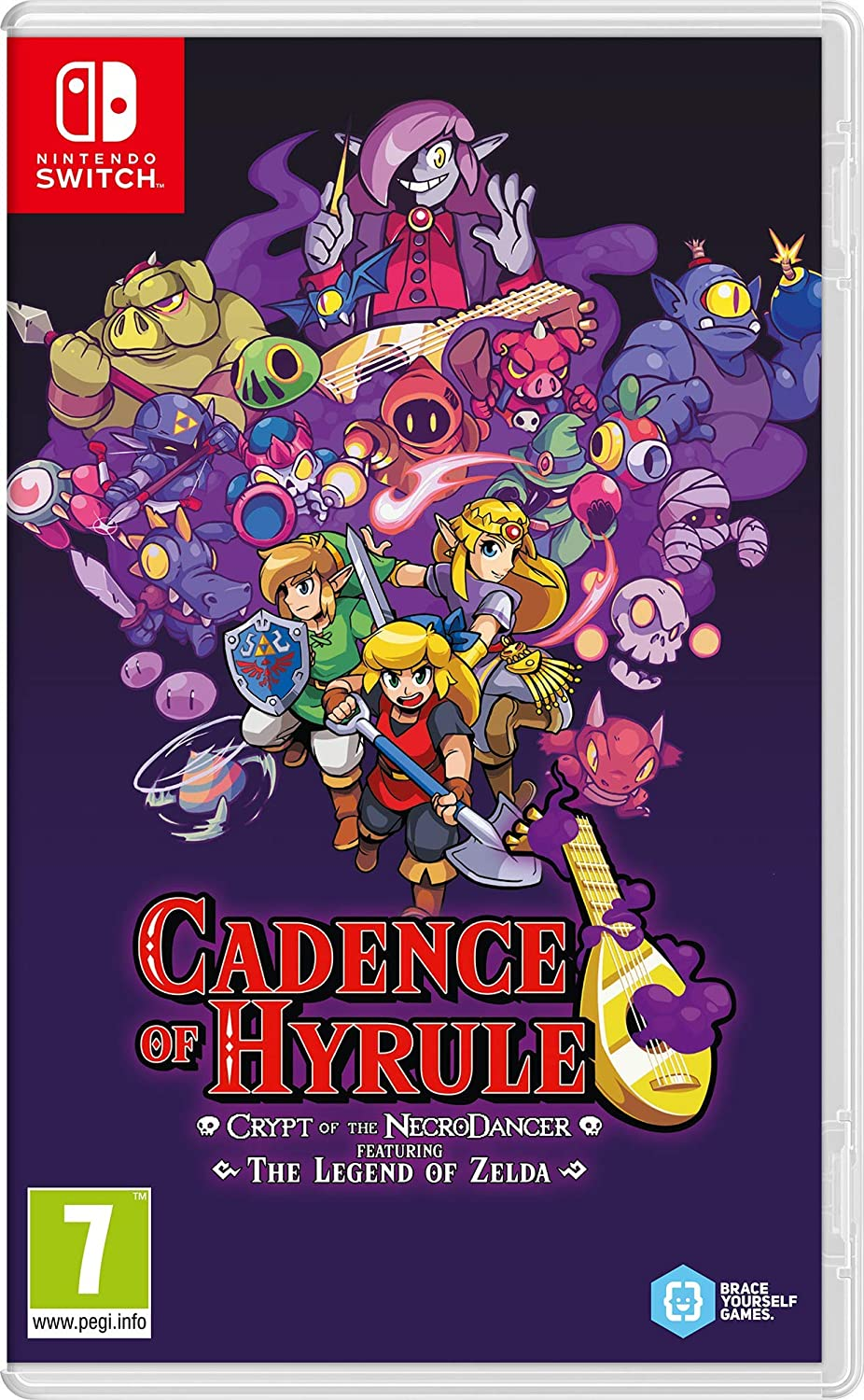 NINTENDO Juego Switch Cadence of Hyrule: Crypt of Necrodancer Feat The Legend of Zelda