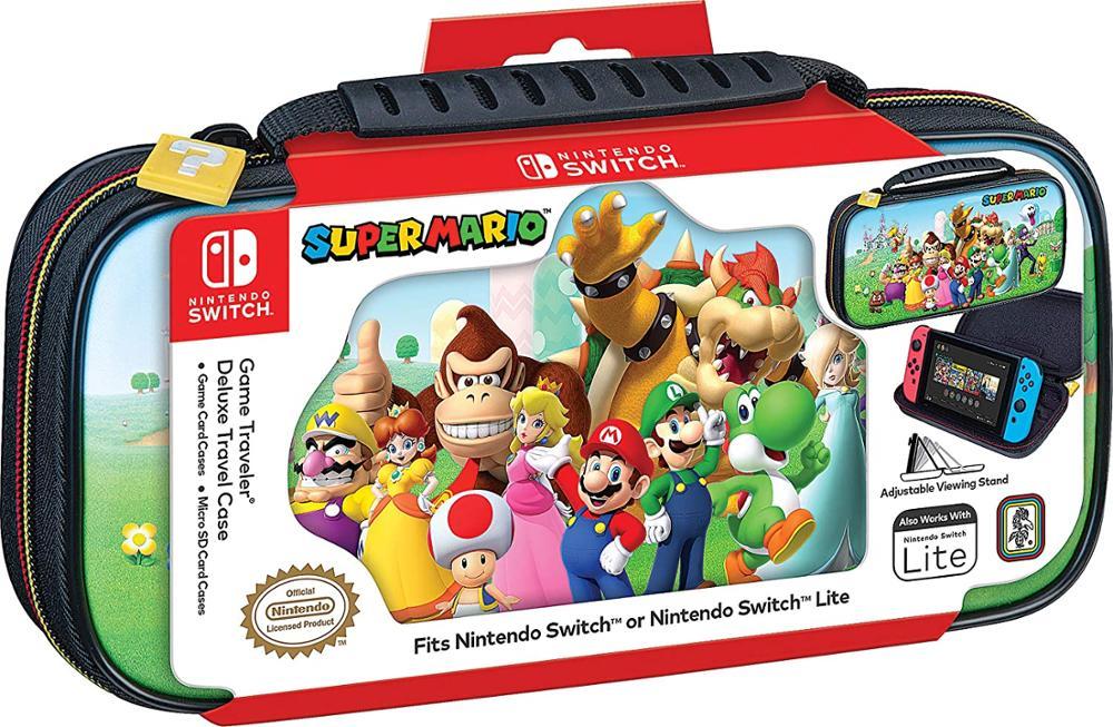 ARDISTEL Game Traveler Deluxe Travel Case - Funda Switch - Super Mario - NNS53A