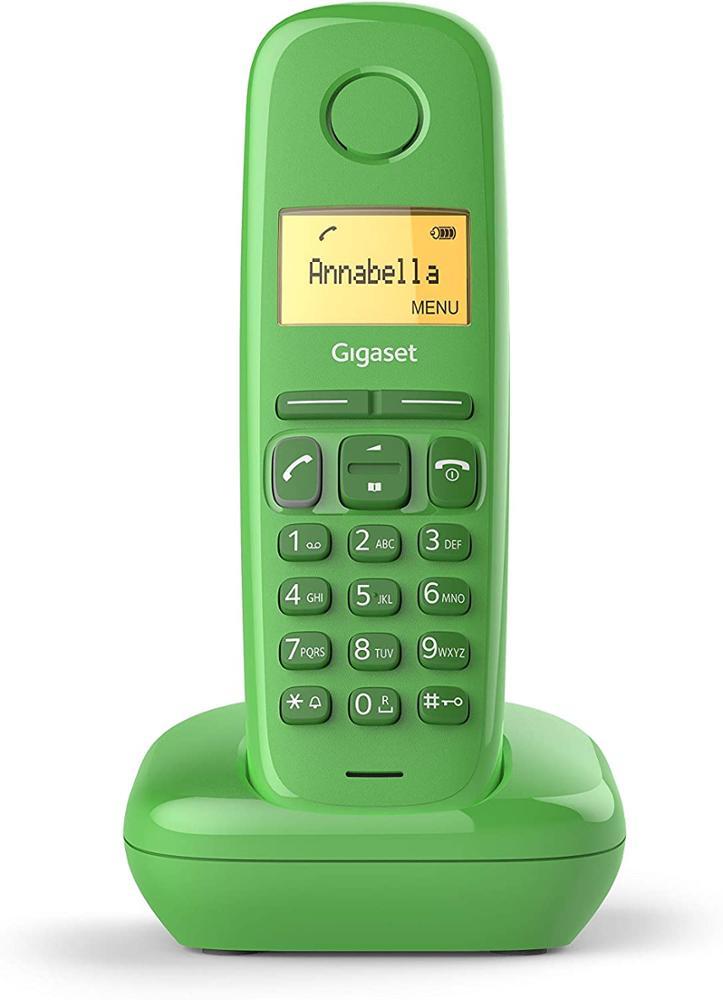 GIGASET Telefono Fijo Inalambrico A170 - Verde