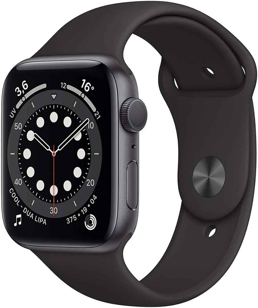APPLE Watch Series 6 44mm GPS - Negro