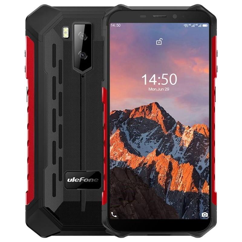 ULEFONE Smartphone Armor X5 Pro 4GB + 64GB - Rojo