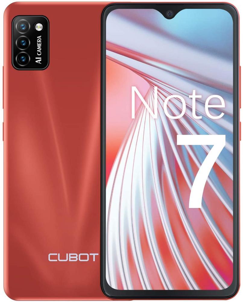 "CUBOT Smartphone Note 7 5.5"" 2GB 16GB - Rojo"