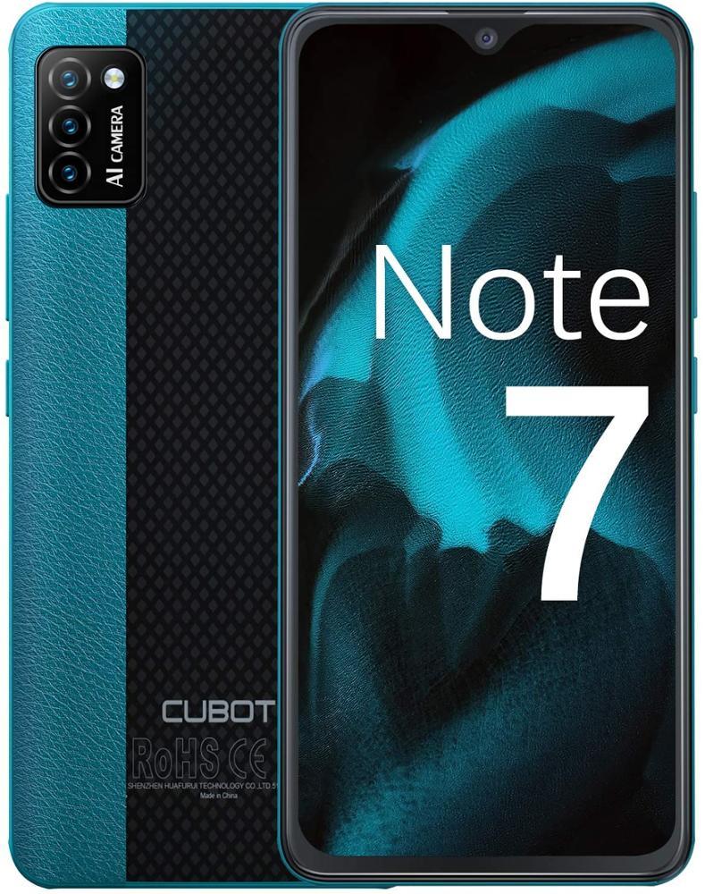 """CUBOT Smartphone Note 7 5.5"""" 2GB 16GB - Verde"""