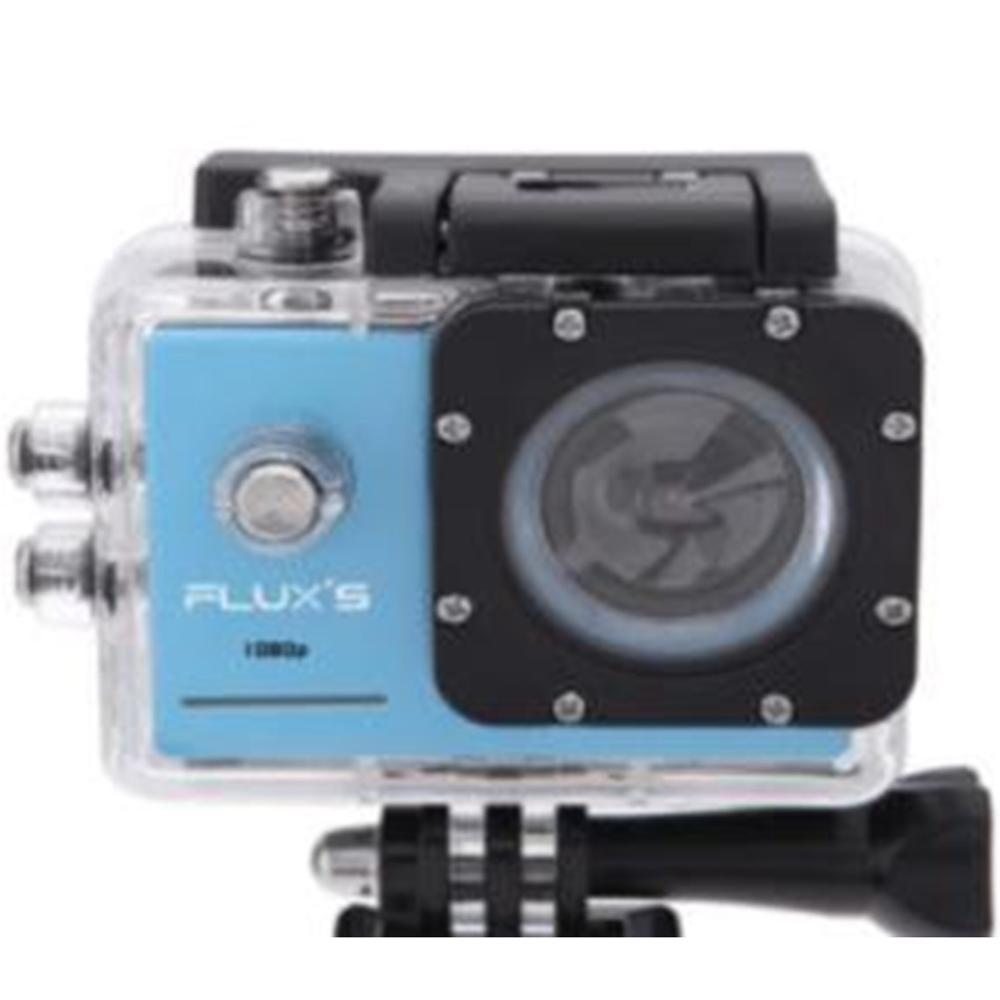 FLUX'S Actioncam Camara Aventura Pacifico FHD 1080P - Azul