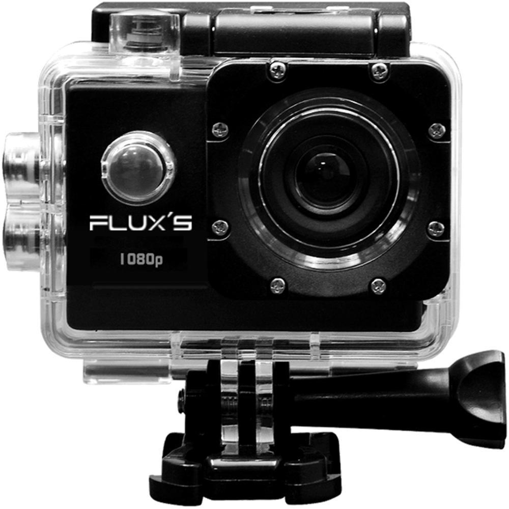 FLUX'S Actioncam Camara Aventura Pacifico FHD 1080P - Negro