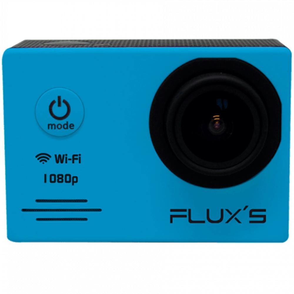 FLUX'S Actioncam Camara Aventura Caribe FHD 1080P WIFI - Azul