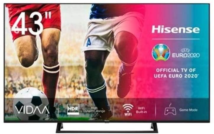 """HISENSE Televisor 43A7300F 43"""" UHD 4K STV"""