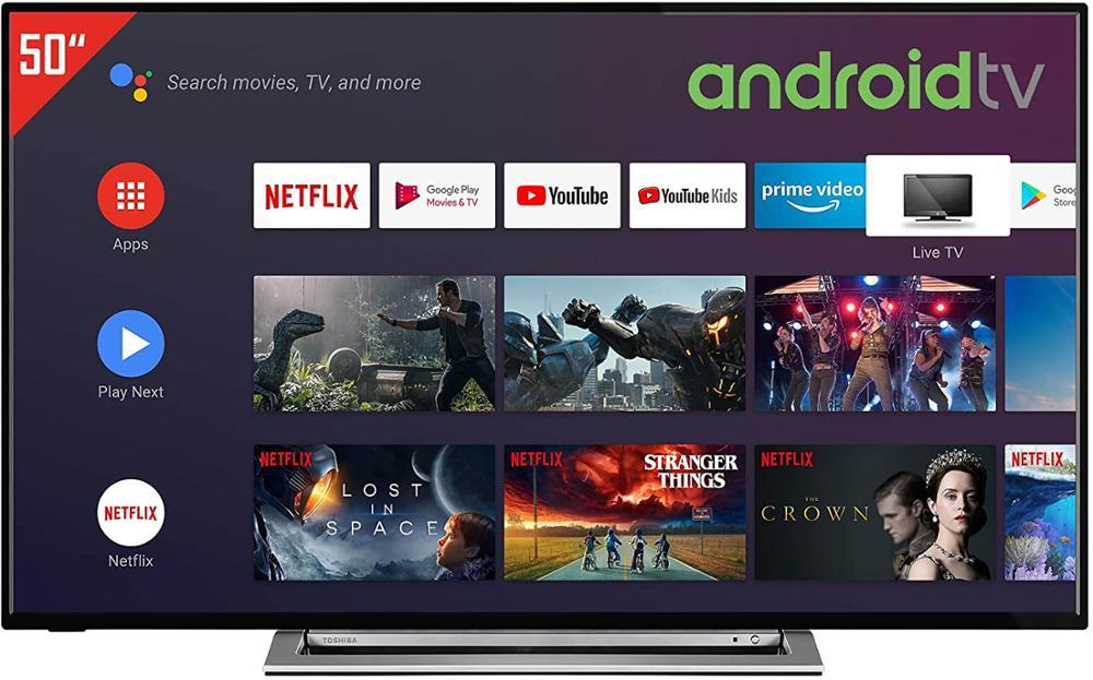 TOSHIBA Televisor 50UA3A63DG UHD 4K ANDROID TV