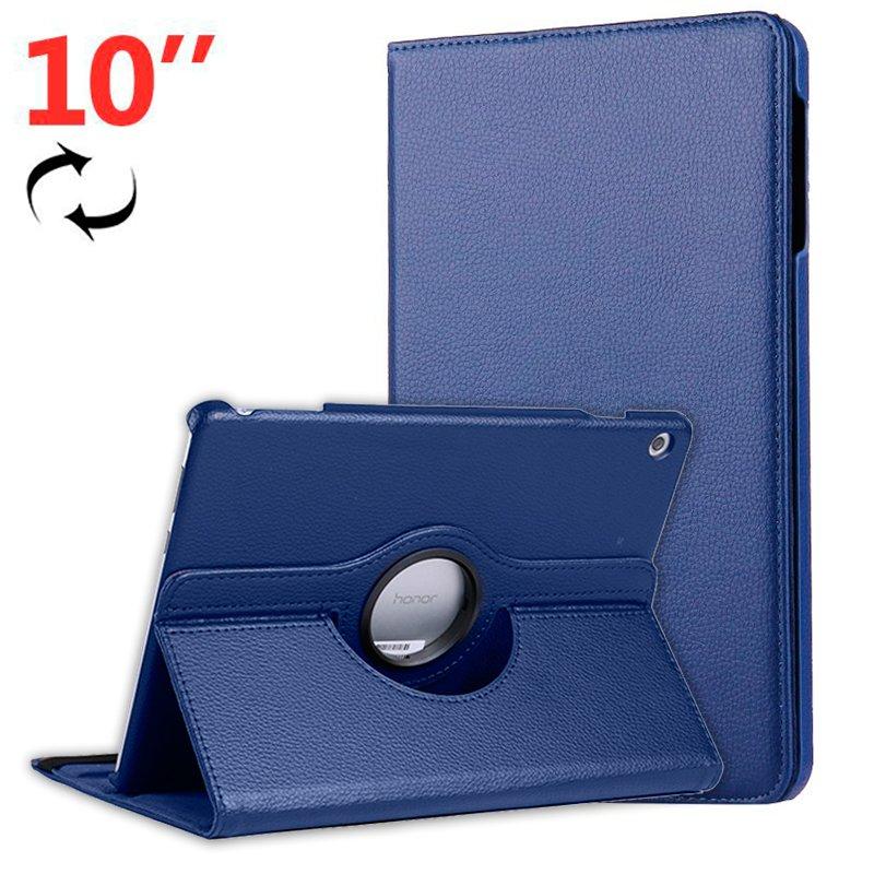 "COOL Funda para Huawei Mediapad T5 10.1"" Polipiel Liso Azul"