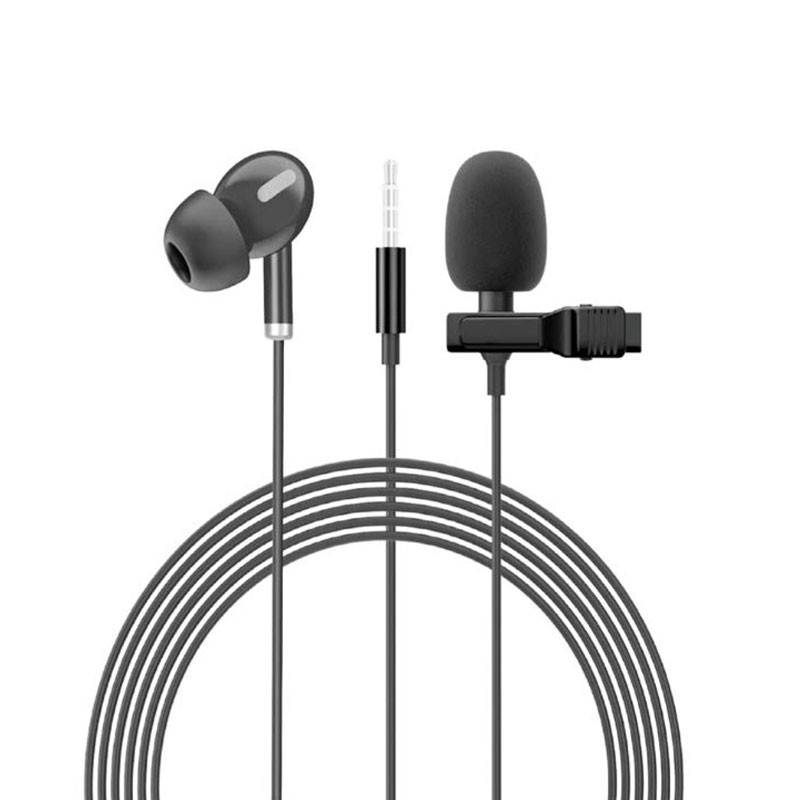 DIGIVOLT Microfono de solapa MICRO 90 Negro