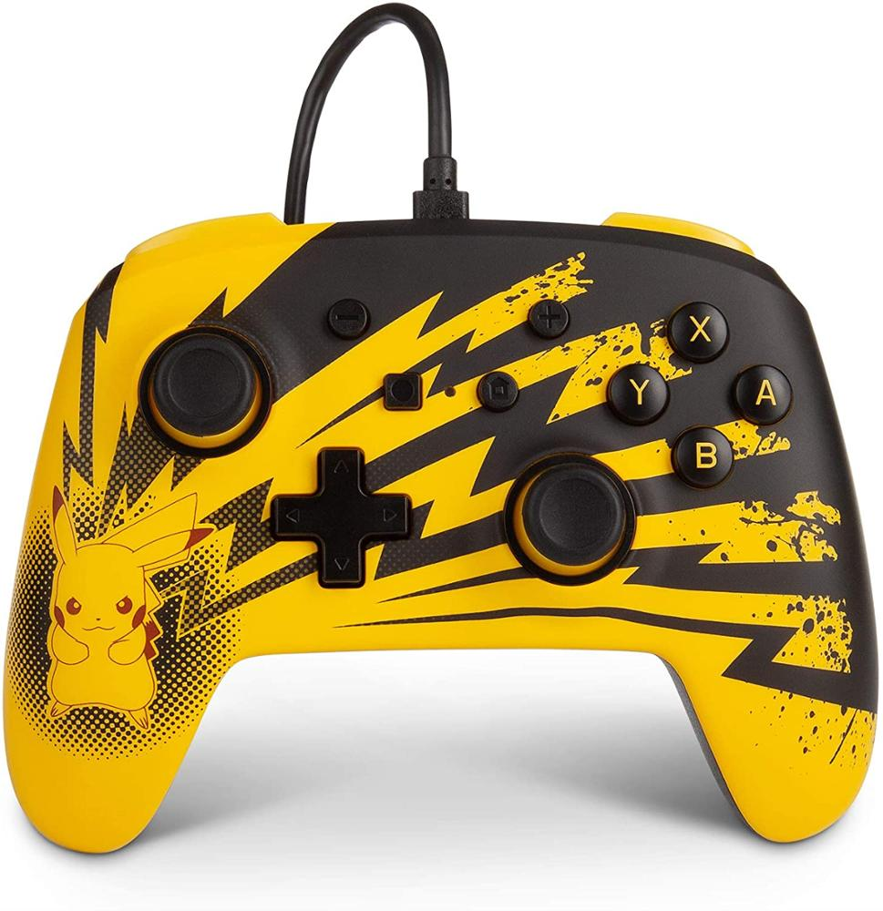 POWER A Mando Switch con cable - Lightning Pikachu