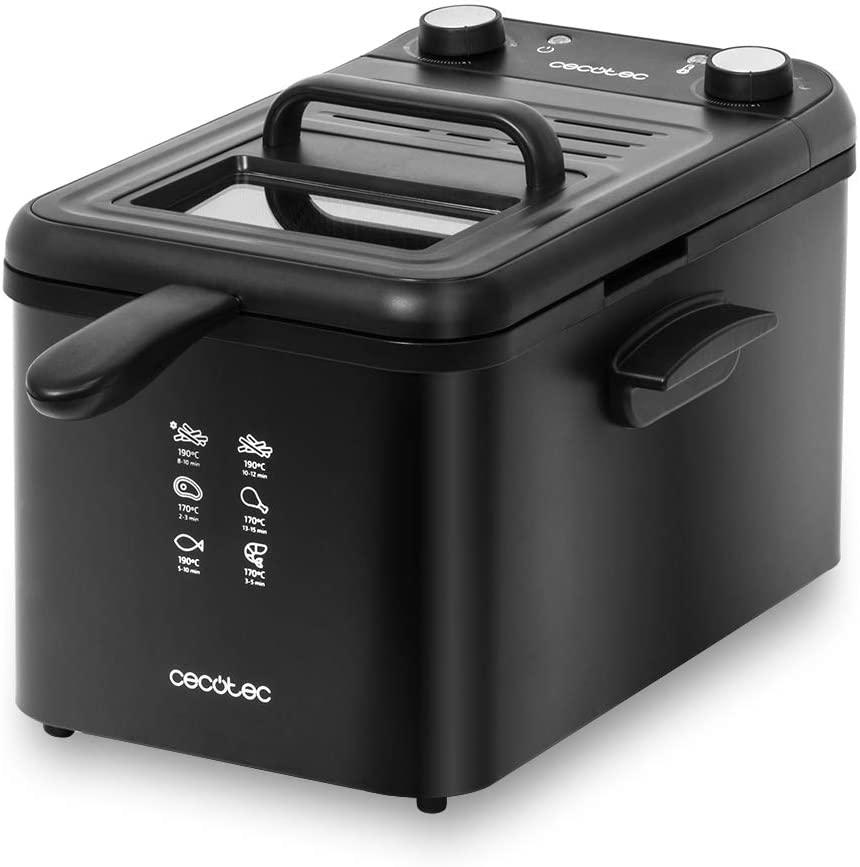 CECOTEC Freidora CleanFry Infinity 4000 4L Black