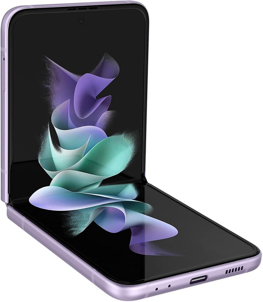 SAMSUNG Smartphone Galaxy Z Flip 3 SM-F711B 8GB + 128GB 5G - Lavanda
